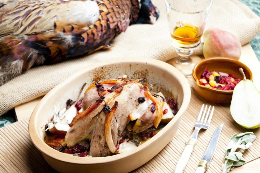 baked pheasant & boar recipes