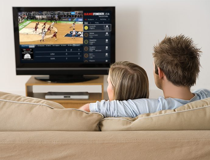 DISH Gamefinder and College Basketball