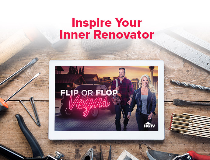 Flip or Flop Vegas, Home Renovation, Moving, Moving Shows, HG TV, DISH Network